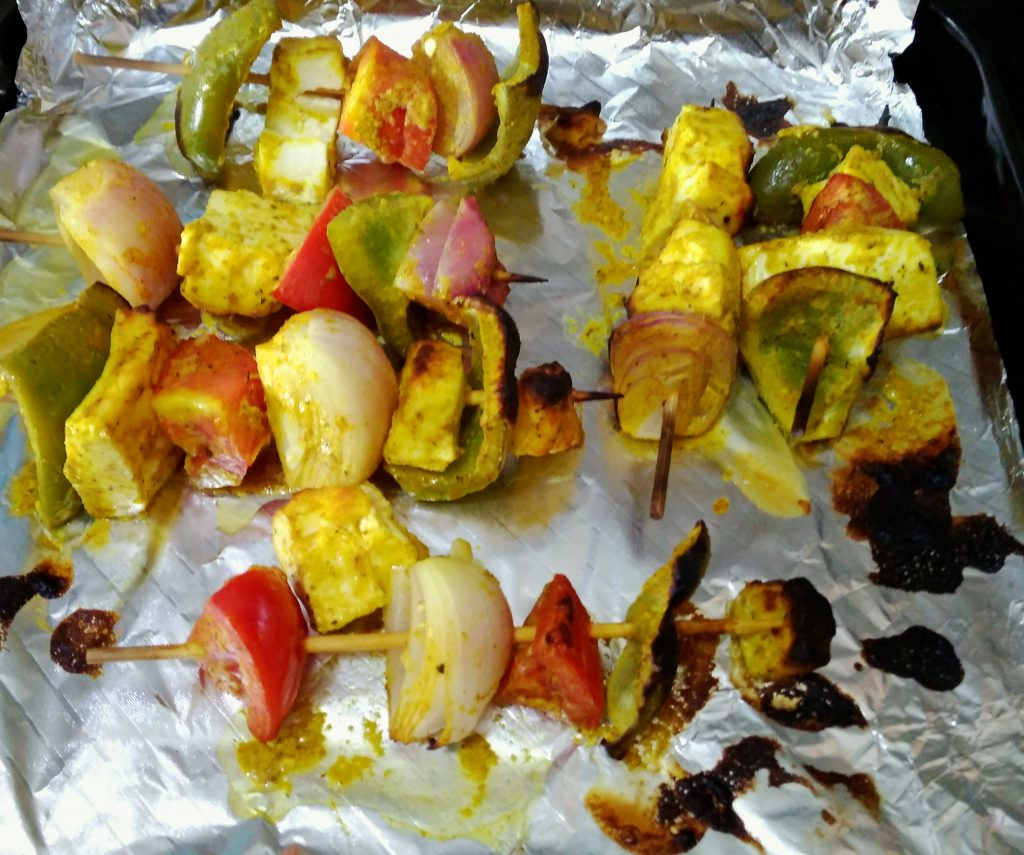 Paneer Tikka - Quick and Easy