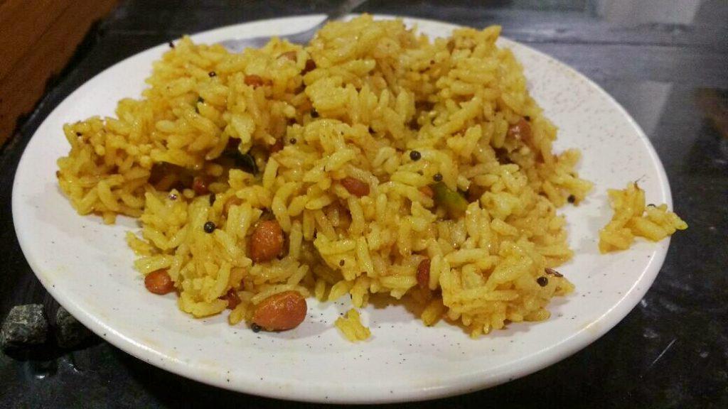 Puliyogare | Tamarind Rice | Pulihora