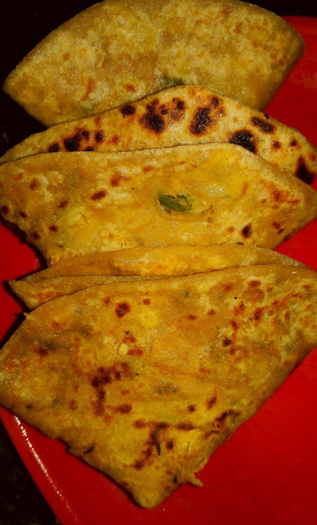 Chana Daal Stuffed Paratha Recipe
