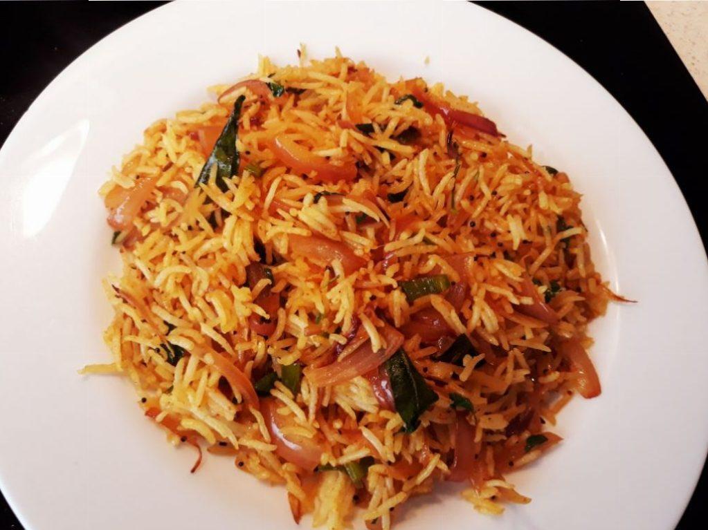 Onion Fried Rice Recipe