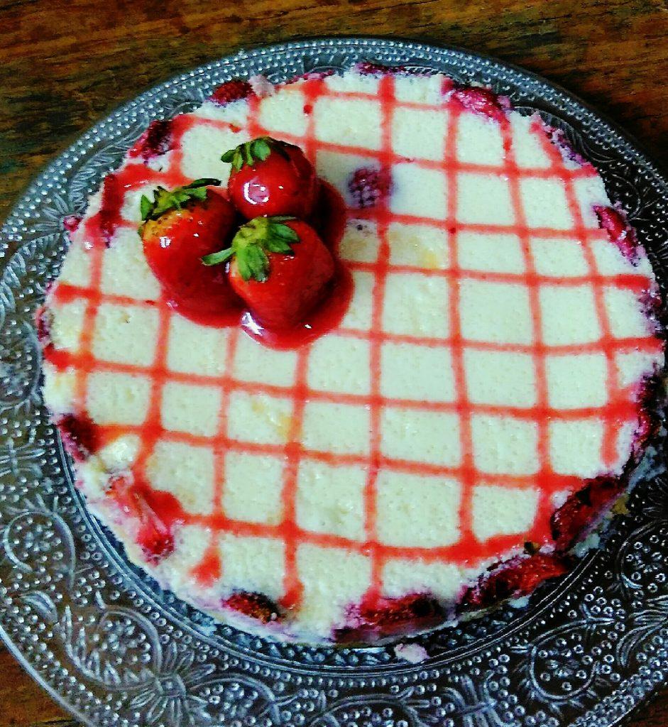 Strawberry Cheese Cake Recipe