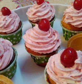 Marmalade Stuffed Cupcake Recipe