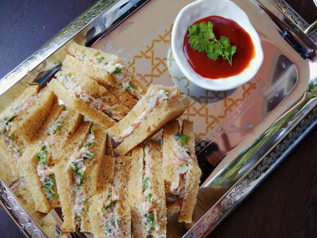 Creamy Sandwiches Recipe