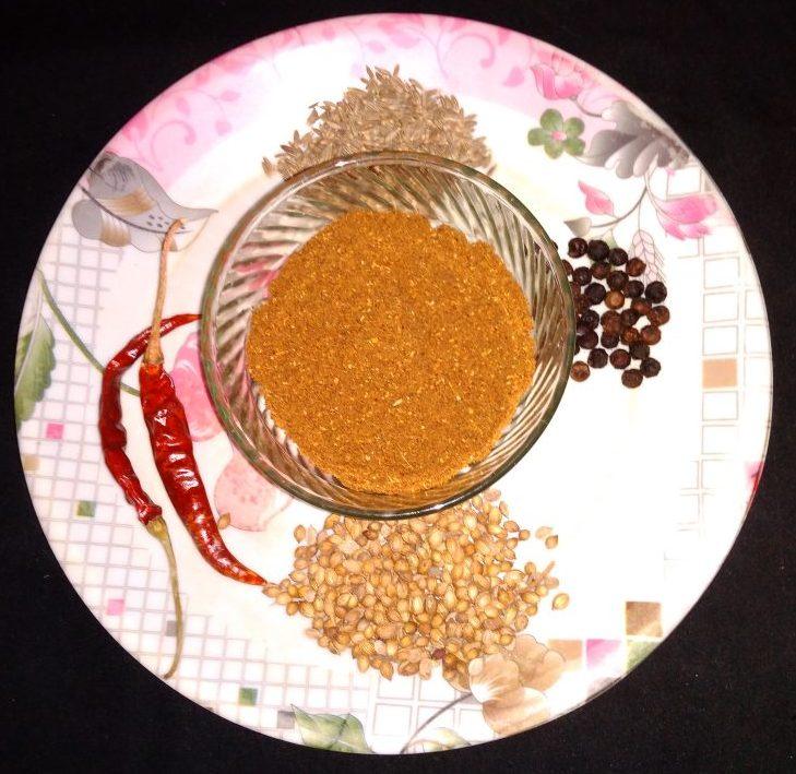 Dry Roasted Masala Recipe
