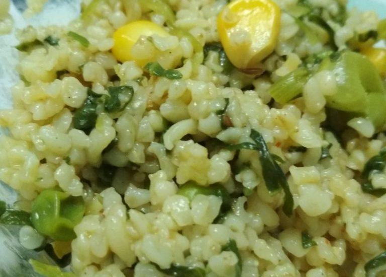 Vegetables With Cracked Wheat (Daliya) Recipe