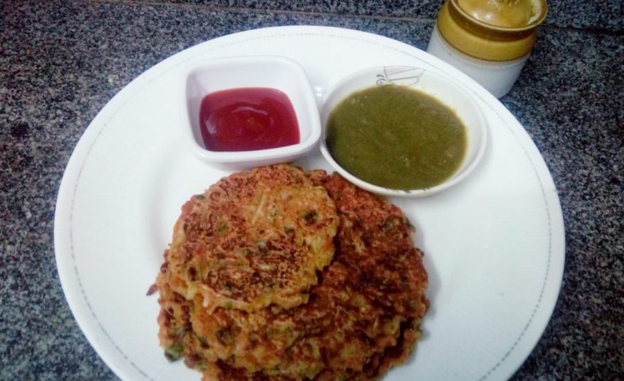Lauki Oats Hash Browns Recipe