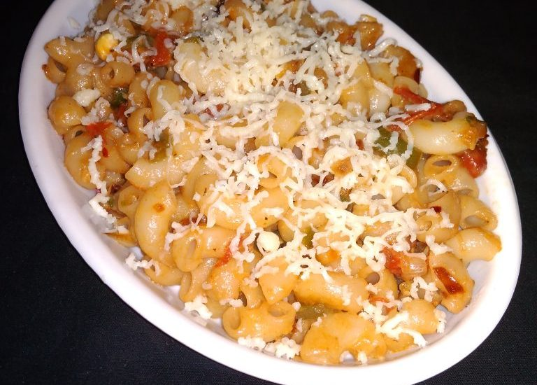 Vegetable Cheese Pasta Recipe