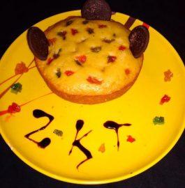 Tutti Frutti Cake in Pressure Cooker Recipe