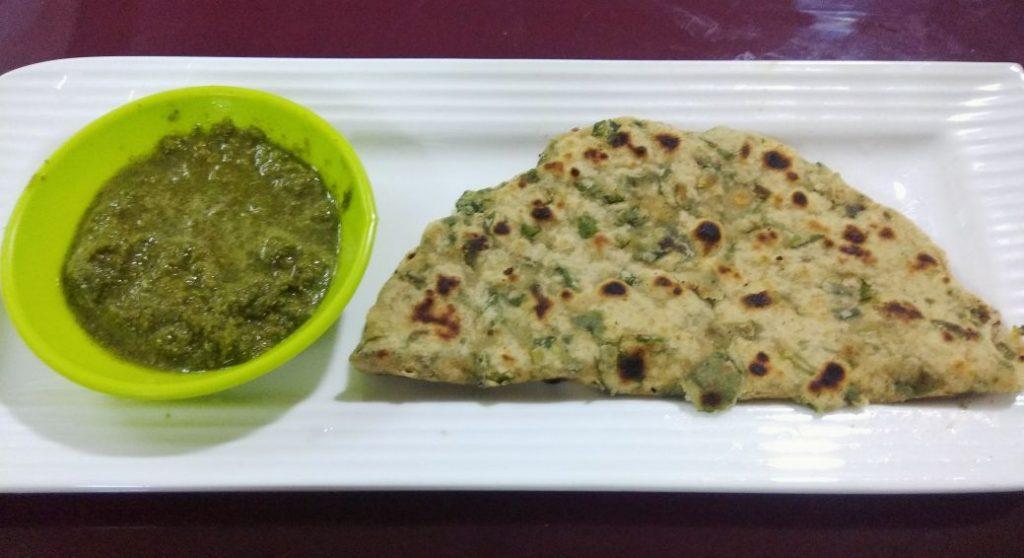 Methi Paratha with Mint Amla Chutney Recipe   Zayka Ka Tadka