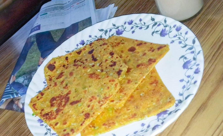 Cabbage Parathas - Quick and Easy Recipe