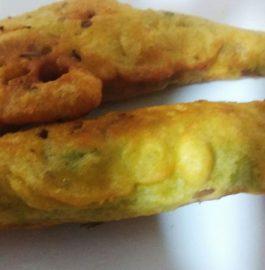 Mirchi Bhajji   Mirchi Pakoda  Quick Evening Snack