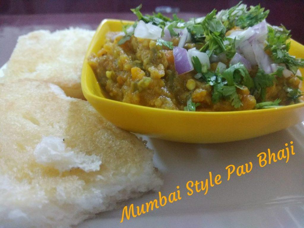 Pav Bhaji _ Mumbai Style