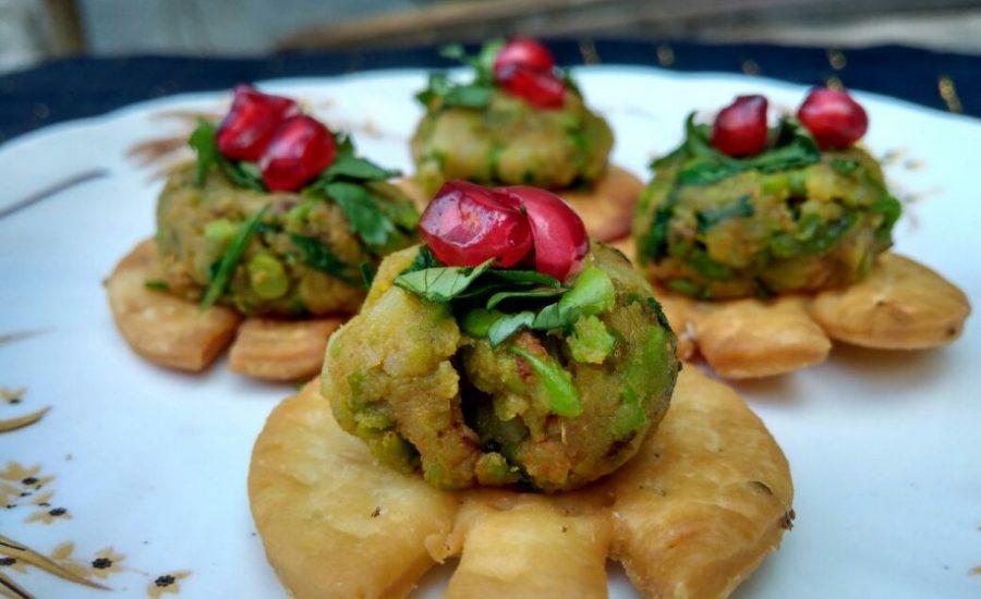 Papri Aloo Chaat Recipe