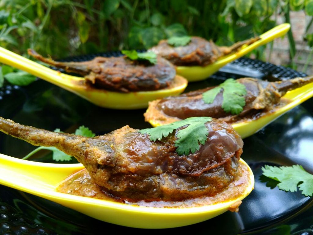 Stuffed Brinjal Masala Recipe