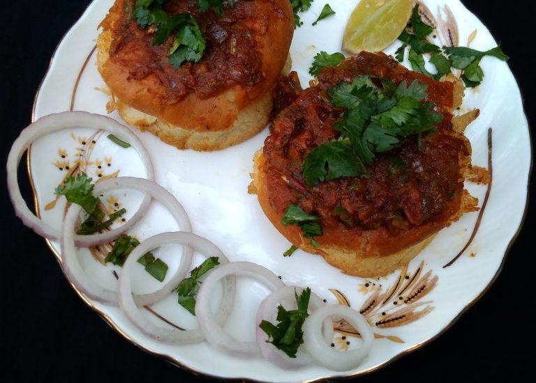 Masala Pav Recipe | Pav Bhaji Recipe