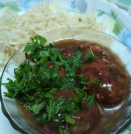 Roasted Vegetable Manchurian Recipe
