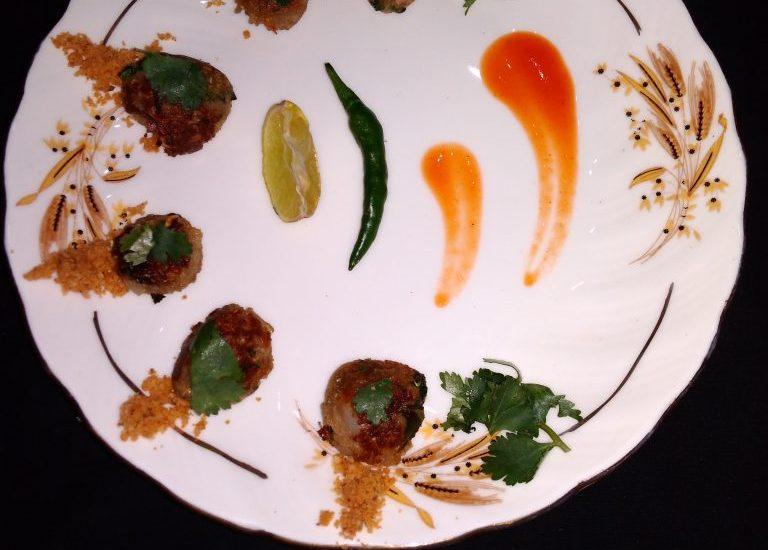 Water- Chestnut (Singhara) Mini Fritters Recipe