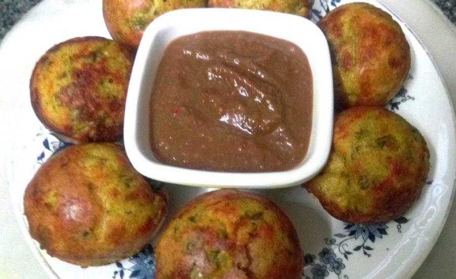 Multigrain Sooji Besan Veggies Appam Recipe