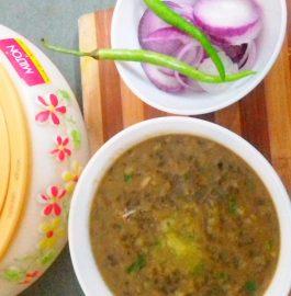 Kali Urad Dal Recipe