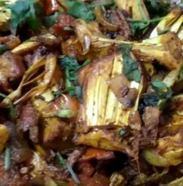 Kathal(jackfruit) Do Pyaza Recipe