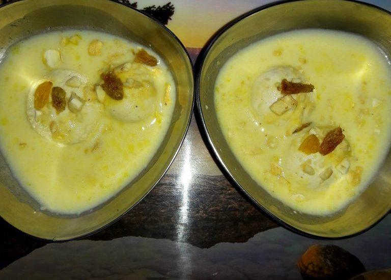 Mini Rasmadhuri Recipe