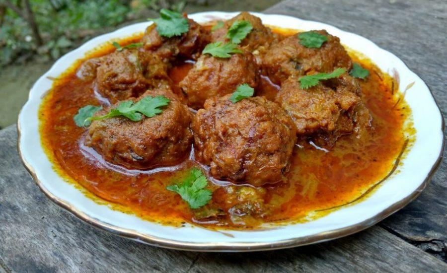 Cabbage Kofta Curry Recipe