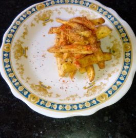 Masala French Fries Recipe