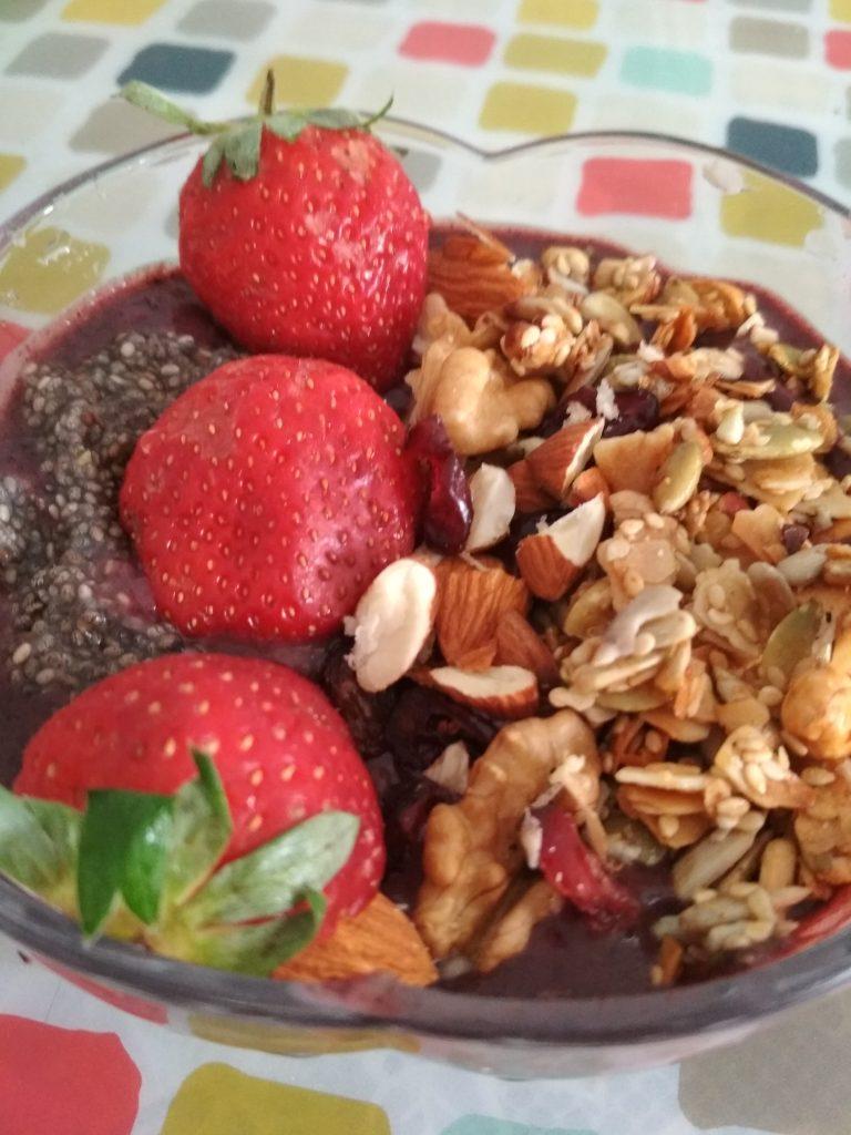 Acai Berry Bowl Recipe