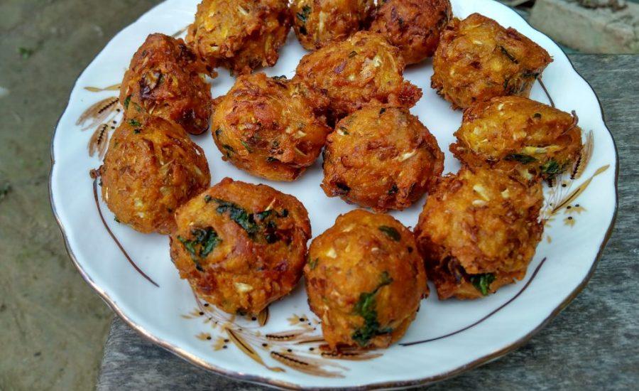 Masoor Daal Cabbage Pakora Recipe