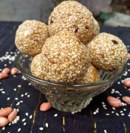 Til Ladoo ( Sesame Seeds Laddu) Recipe