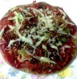 Bajra Thin Crust Pizza Recipe