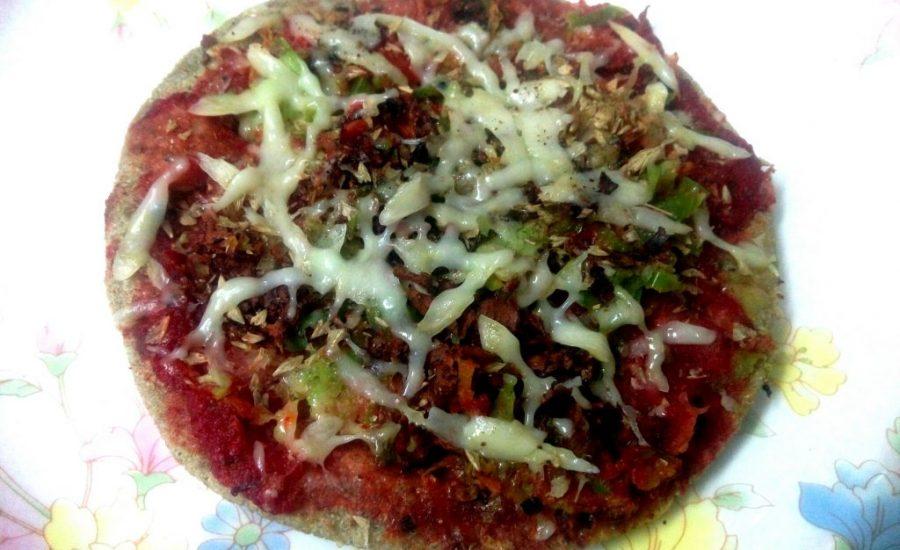 Bajra Thin Crust Pizza Recipe