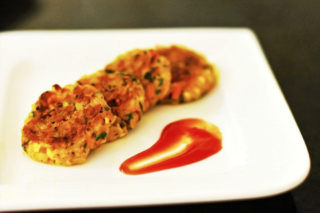 Flattened Rice Croquettes Or Poha Cutlets Recipe