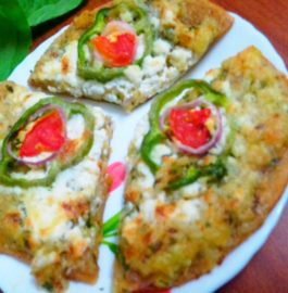 Aloo Paratha Pizza Recipe