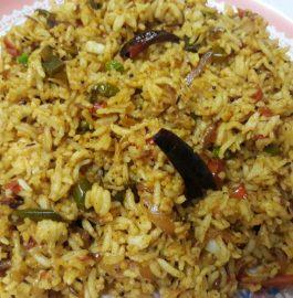 Achari Fried Rice Recipe