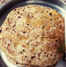 Achari Aloo Paratha Recipe