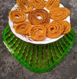 Rice flour Chakli/Murukku Recipe