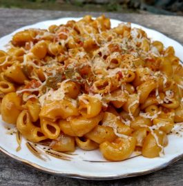 Macaroni Masala In Pressure Cooker Recipe