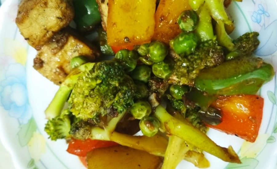 Stir Fried Vegetables With Tofu Recipe
