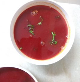Tomato Beetroot Soup Recipe