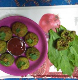 Palak Sprout Potli Recipe