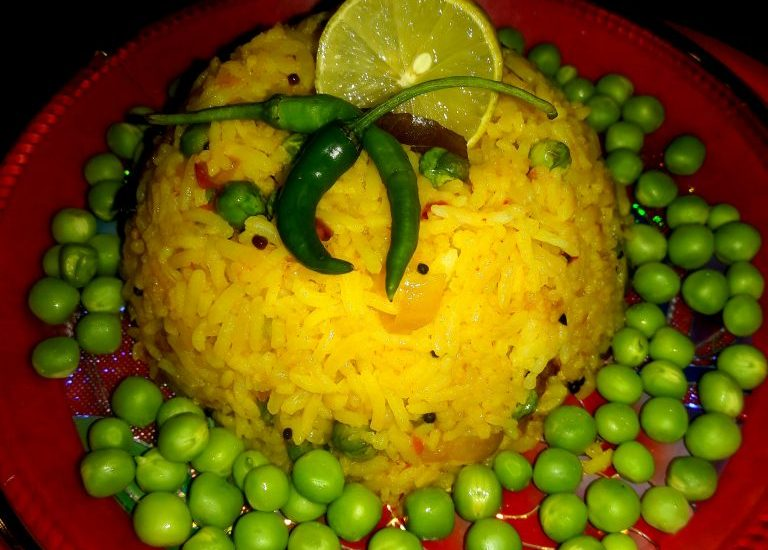 Leftover Rice Poha Recipe