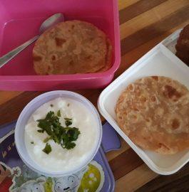 Aloo Paratha Bites Recipe