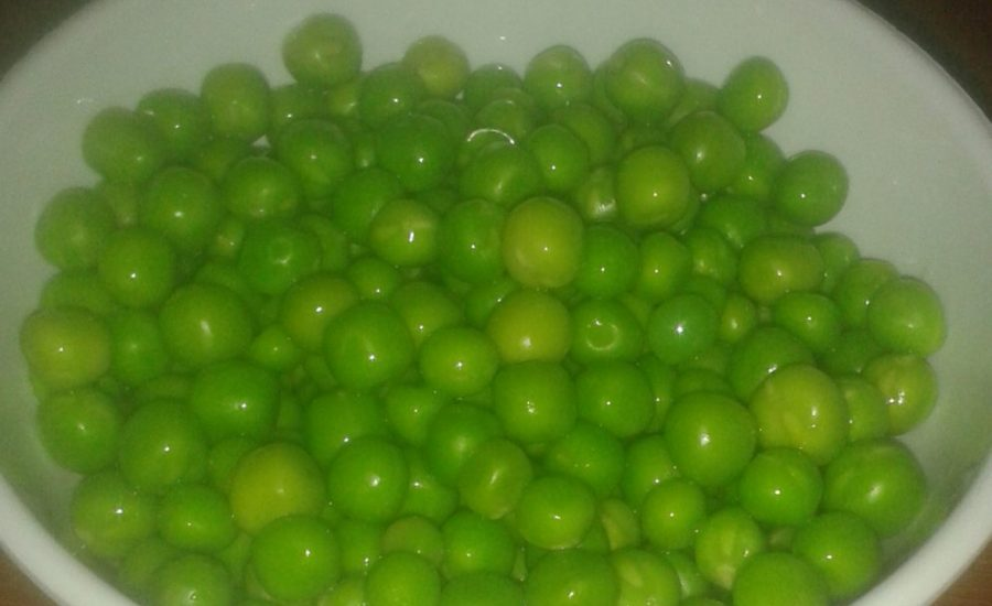 Frozen Peas Recipe