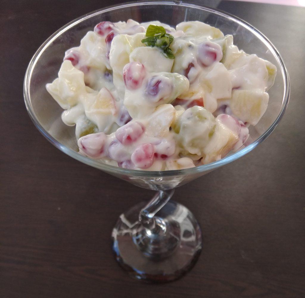 Fruit Cream Recipe
