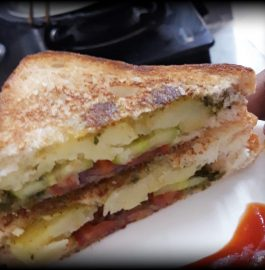 Grilled Bread Sandwich Recipe