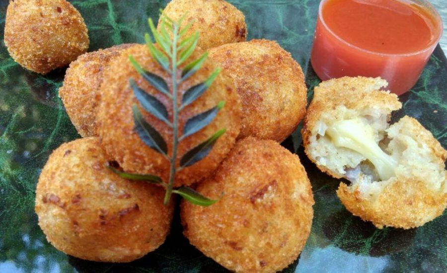 Potato Cheesy Croquette Recipe