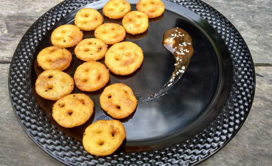 Potato Cheesy Smiley Recipe