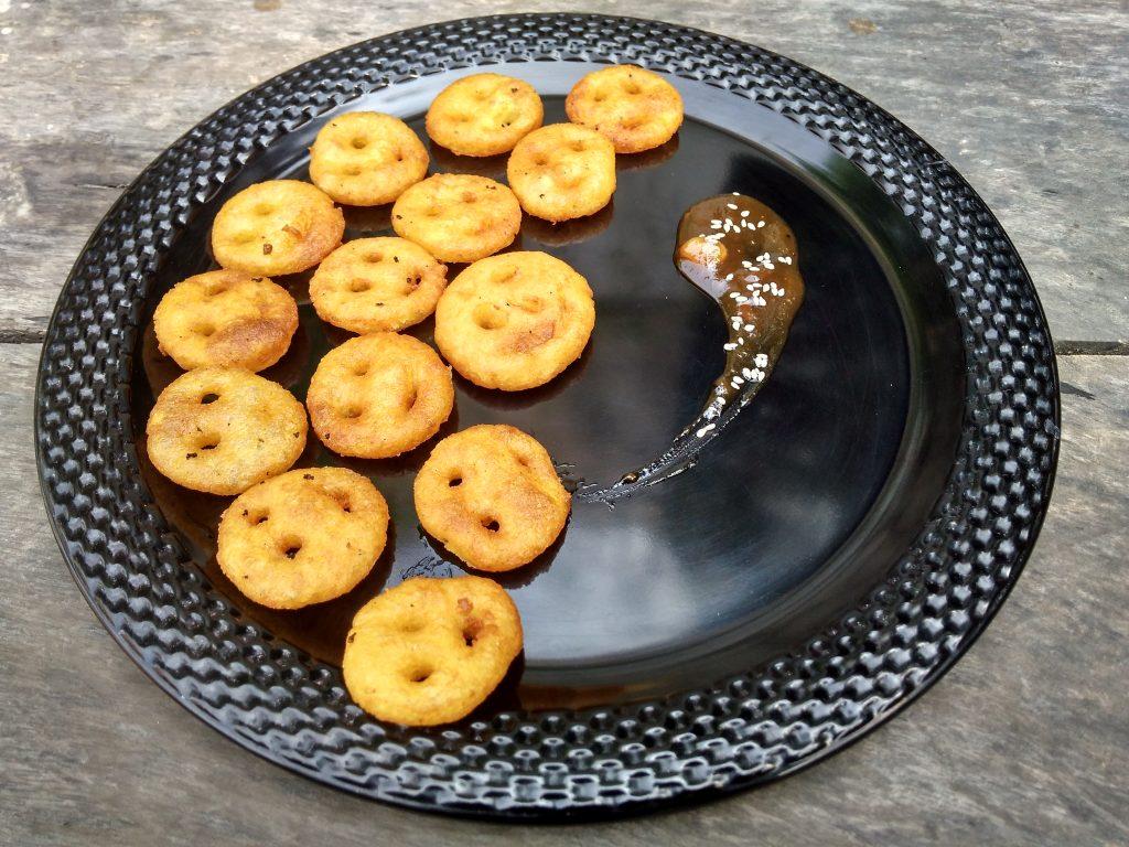 Potato Cheesy Smiley Recipe