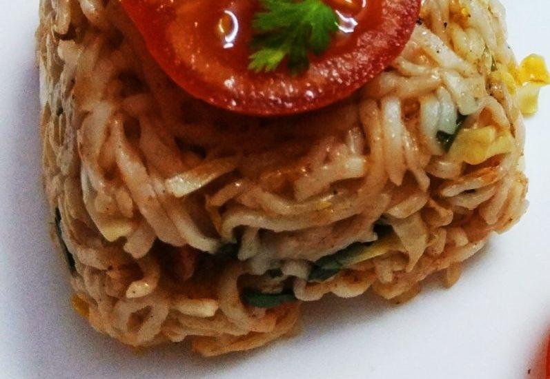 Veggies Wheat Spaghetti Recipe